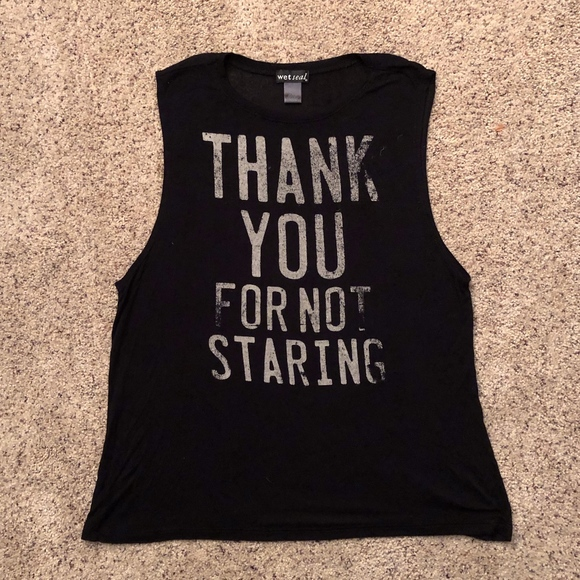 Wet Seal Tops - Wet Seal Muscle Tank